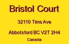Bristol Court 32110 TIMS V2T 2H4