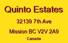 Quinto Estates 32139 7TH V2V 2A9