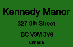 Kennedy Manor 327 9TH V3M 3V8