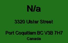 N/a 3320 ULSTER V3B 7H7