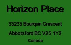 Horizon Place 33233 BOURQUIN V2S 1Y2
