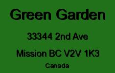 Green Garden 33344 2ND V2V 1K3