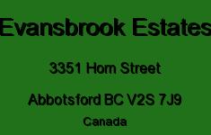 Evansbrook Estates 3351 HORN V2S 7J9