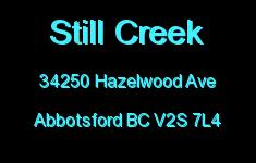 Still Creek 34250 HAZELWOOD V2S 7L4