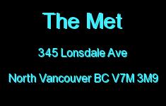 The Met 345 LONSDALE V7M 3M9