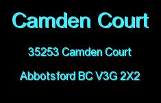 Camden Court 35253 CAMDEN V3G 2X2
