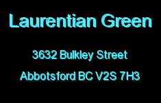 Laurentian Green 3632 BULKLEY V2S 7H3
