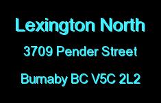 Lexington North 3709 PENDER V5C 2L2