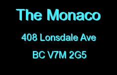 The Monaco 408 LONSDALE V7M 2G5