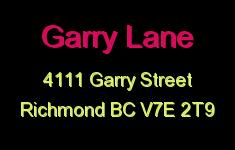Garry Lane 4111 GARRY V7E 2T9