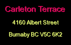 Carleton Terrace 4160 ALBERT V5C 6K2