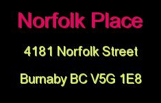 Norfolk Place 4181 NORFOLK V5G 1E8