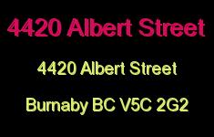 4420 Albert Street 4420 ALBERT V5C 2G2
