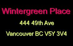 Wintergreen Place 444 49TH V5Y 3V4