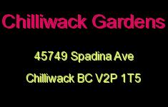 Chilliwack Gardens 45749 SPADINA V2P 1T5
