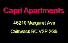 Capri Apartments 46210 MARGARET V2P 2G9