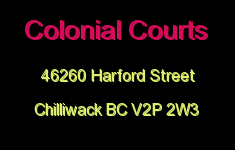 Colonial Courts 46260 HARFORD V2P 2W3