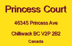 Princess Court 46345 PRINCESS V2P 2B2