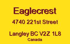 Eaglecrest 4740 221ST V2Z 1L8