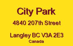 City Park 4840 207TH V3A 2E3