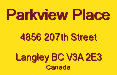 Parkview Place 4856 207TH V3A 2E3
