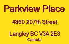 Parkview Place 4860 207TH V3A 2E3