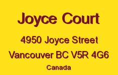 Joyce Court 4950 JOYCE V5R 4G6