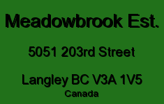 Meadowbrook Est. 5051 203RD V3A 1V5