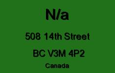 N/a 508 14TH V3M 4P2