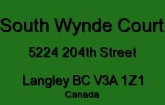 South Wynde Court 5224 204TH V3A 1Z1