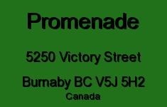 Promenade 5250 VICTORY V5J 5H2