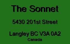The Sonnet 5430 201ST V3A 0A2