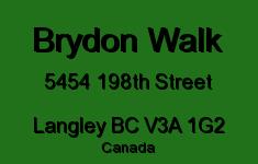 Brydon Walk 5454 198TH V3A 1G2