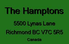 The Hamptons 5500 LYNAS V7C 5R5