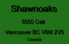 Shawnoaks 5555 OAK V6M 2V5