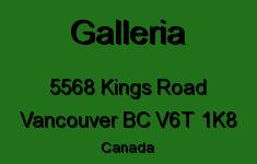 Galleria 5568 KINGS V6T 1K8