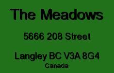 The Meadows 5666 208 V3A 8G4