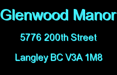 Glenwood Manor 5776 200TH V3A 1M8