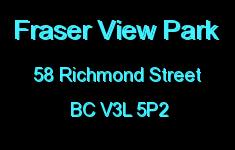 Fraser View Park 58 RICHMOND V3L 5P2