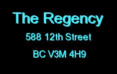 The Regency 588 12TH V3M 4H9