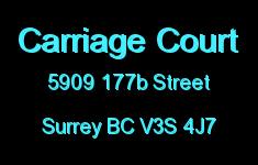 Carriage Court 5909 177B V3S 4J7