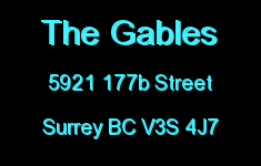 The Gables 5921 177B V3S 4J7
