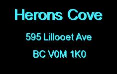 Herons Cove 595 LILLOOET V0M 1K0