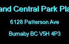 Grand Central Park Place 6128 PATTERSON V5H 4P3