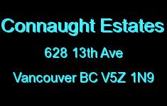 Connaught Estates 628 13TH V5Z 1N9