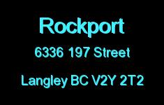 Rockport 6336 197 V2Y 2T2