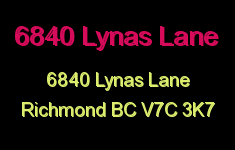 6840 Lynas Lane 6840 LYNAS V7C 3K7