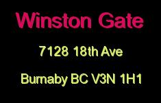 Winston Gate 7128 18TH V3N 1H1