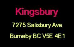 Kingsbury 7275 SALISBURY V5E 4E1