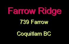 Farrow Ridge 739 FARROW
